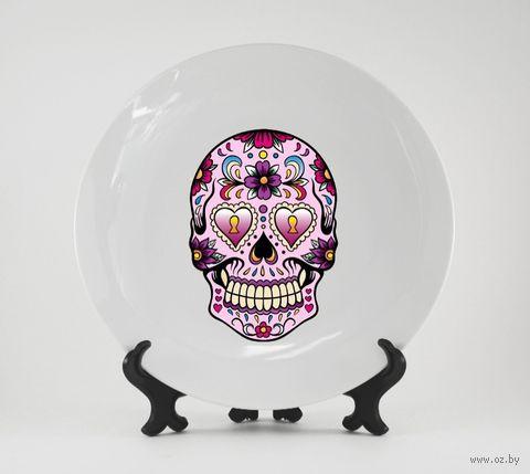 "Тарелка ""Мексиканский череп"" (арт. 159)"