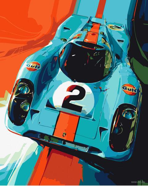 "Картина по номерам ""Порше 917"" (500х400 мм) — фото, картинка"