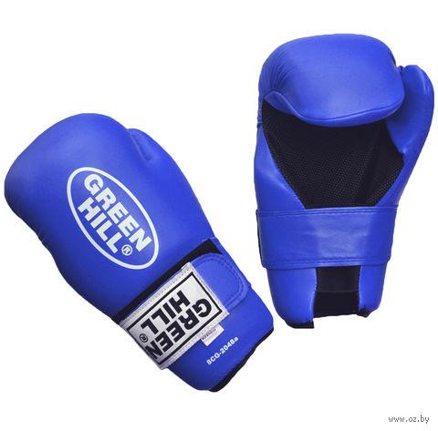 Накладки для карате 7-contact (XS; синие) — фото, картинка
