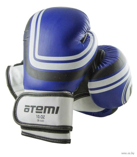 Перчатки боксёрские LTB-16101 (L/XL; синие; 12 унций) — фото, картинка