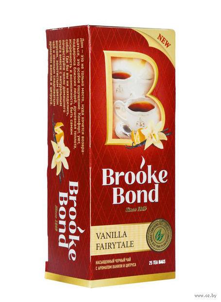 """Чай черный """"Brooke Bond. Ванильная сказка"""" (25 пакетиков) — фото, картинка"""