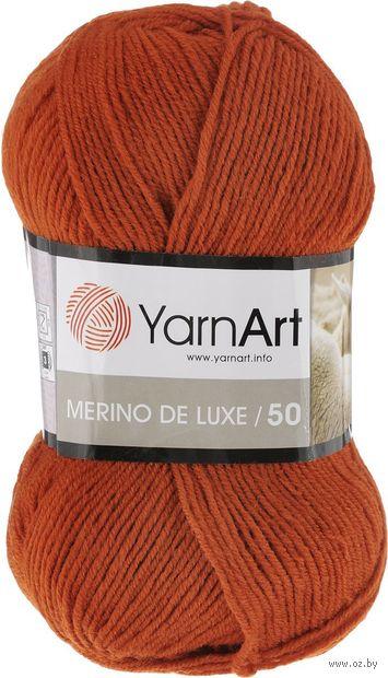 "Пряжа ""YarnArt. Merino de Luxe №3027"" (100 г; 280 м; терракотовый) — фото, картинка"