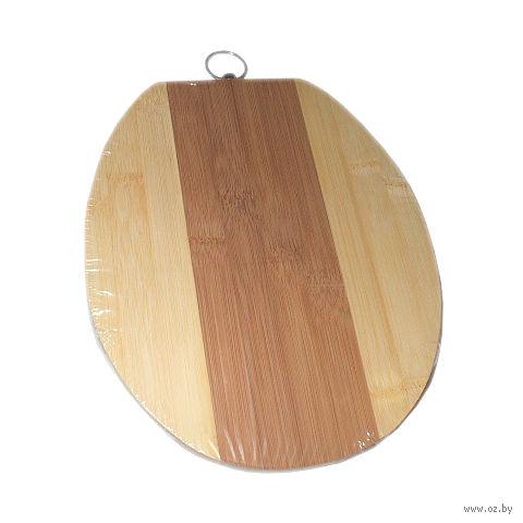 Доска разделочная бамбуковая (240х200х12 мм; арт. BB101156)