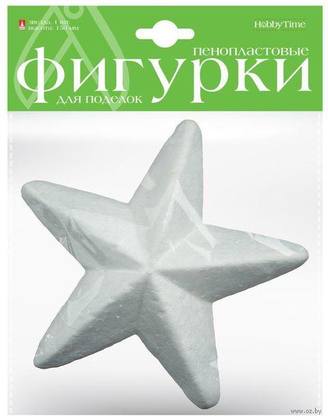 "Заготовка из пенопласта ""Звезда"" (104х150 мм) — фото, картинка"