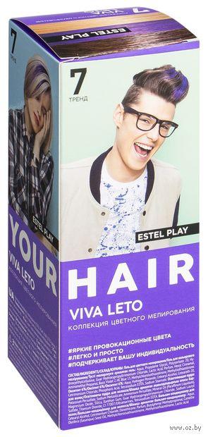 """Краска для волос """"Estel Play"""" тон: 7, viva leto — фото, картинка"""