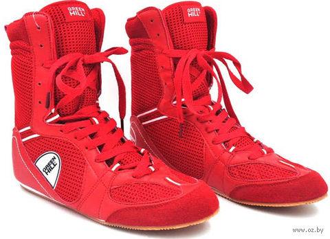 Обувь для бокса PS005 (р. 42; красная) — фото, картинка
