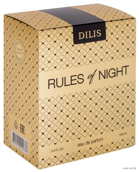 "Парфюмерная вода для женщин ""Rules of Night"" (100 мл) — фото, картинка"