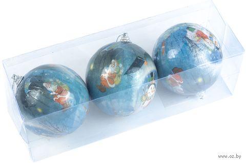 """Набор ёлочных шаров """"Дед Мороз"""" — фото, картинка"""