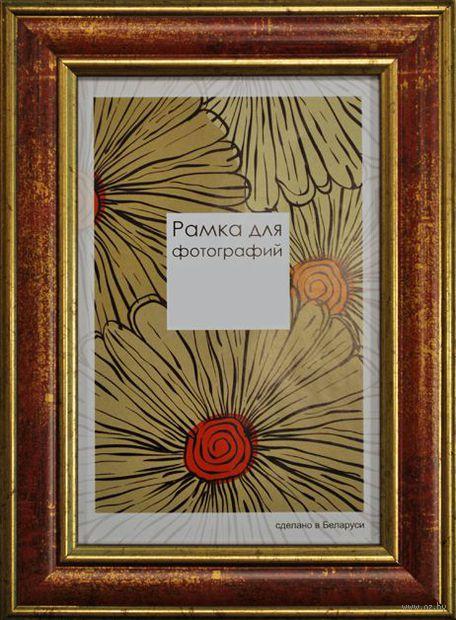 Рамка деревянная со стеклом (15х21 см, арт. 229-08)