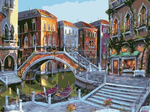 "Картина по номерам ""Городской пейзаж"" (400х500 мм) — фото, картинка"
