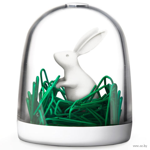 """Держатель для скрепок """"Bunny in the field"""""""