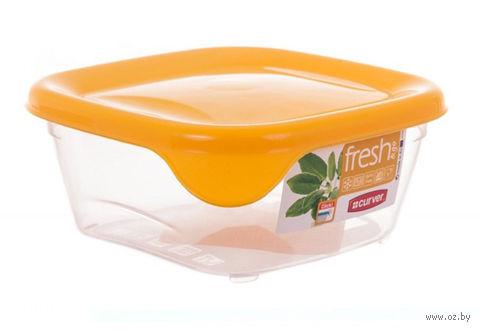 """Контейнер для хранения продуктов """"Fresh&Go"""" (0,25 л; желтый) — фото, картинка"""