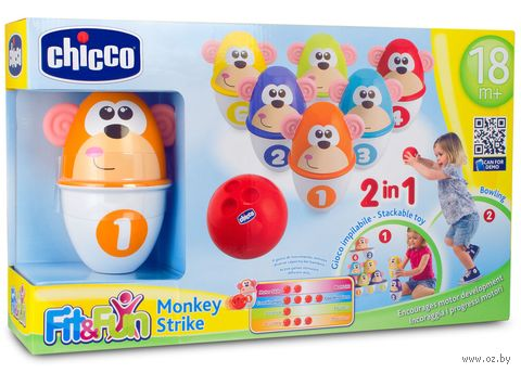 """Игровой набор """"Боулинг. Monkey strike"""" — фото, картинка"""
