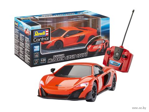 "Машинка на радиоуправлении ""McLaren 675 LT Coupe"" (масштаб: 1/24) — фото, картинка"