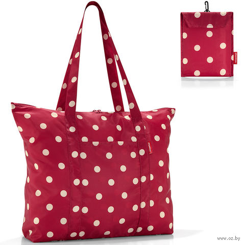 "Сумка складная ""Mini maxi travelshopper"" (ruby dots)"