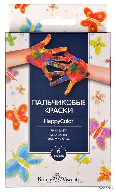 Краски пальчиковые (6 цветов) — фото, картинка
