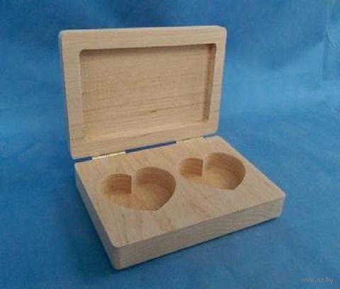 Шкатулка для обручальных колец (арт. МВ00388) — фото, картинка