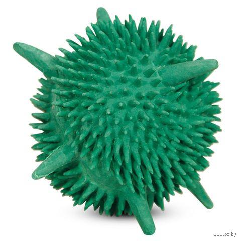 """Игрушка для собак с пищалкой """"Мяч-мина"""" (8 см) — фото, картинка"""