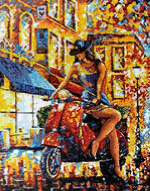 "Алмазная вышивка-мозаика ""Авантюристка"" (380х480 мм) — фото, картинка"