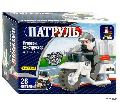 """Конструктор """"Патруль. Мотоцикл"""" (26 деталей)"""
