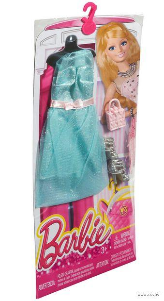 """Одежда для куклы """"Барби. Гламур. Зеленое платье с вуалью"""" (арт. CFX93)"""
