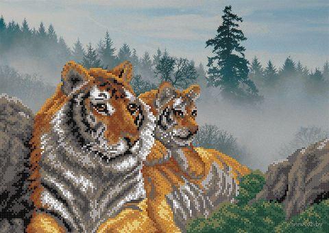 """Вышивка бисером """"Утро в тигровой пади"""""""