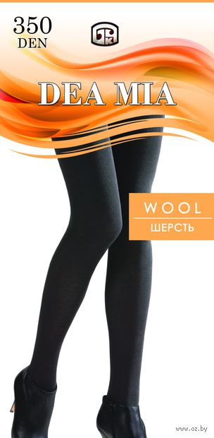 "Колготки женские теплые ""Dea Mia. Wool 350"" — фото, картинка"