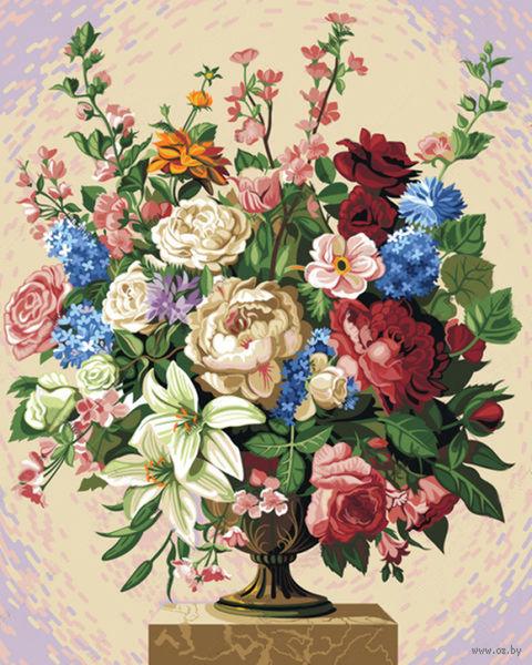 """Картина по номерам """"Цветочное изобилие"""" (500х400 мм) — фото, картинка"""