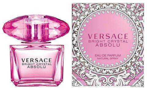 "Парфюмерная вода для женщин Versace ""Bright Crystal Absolu"" (90 мл) — фото, картинка"