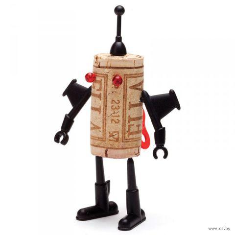 """Декор для винной пробки """"Robots"""" (Юри)"""