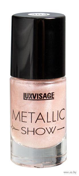 "Лак для ногтей ""Metallic Show"" (тон: 304, розовый кварц) — фото, картинка"