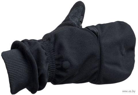"""Перчатки """"Спорт"""" (р. 26; чёрные) — фото, картинка"""