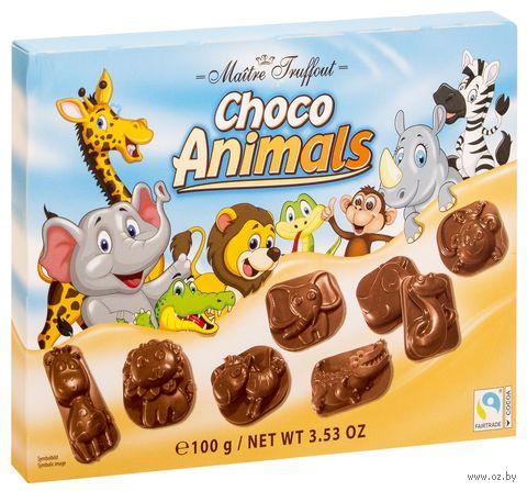 "Шоколад молочный фигурный ""Choco Animals"" (100 г) — фото, картинка"