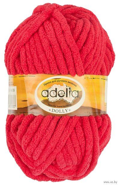 """Пряжа """"Adelia. Dolly №09"""" (100 г; 40 м; красный) — фото, картинка"""