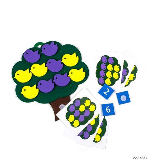 "Развивающая игрушка ""Дерево с птичками"" — фото, картинка"