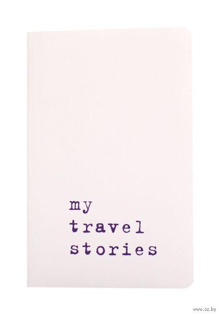 """Записная книжка Молескин """"Volant. My Travel Stories"""" нелинованная (карманная; мягкая белая обложка)"""