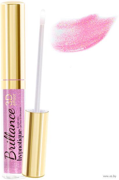 """Блеск для губ """"Brillance hypnotique 3D"""" (тон: 23, прозрачный розовый)"""