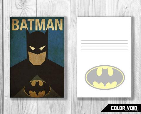 "Открытка №831 ""Бэтмен"" — фото, картинка"