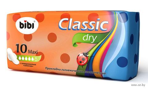 "Гигиенические прокладки ""Classiс Dry Maxi"" (10 шт.) — фото, картинка"