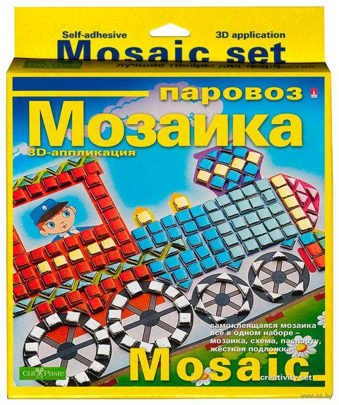 """Мозаика """"Паровоз"""" — фото, картинка"""