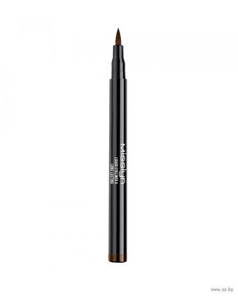 """Подводка для глаз """"Liquid Eyeliner Longlasting"""" (тон: 4, коричневый) — фото, картинка"""