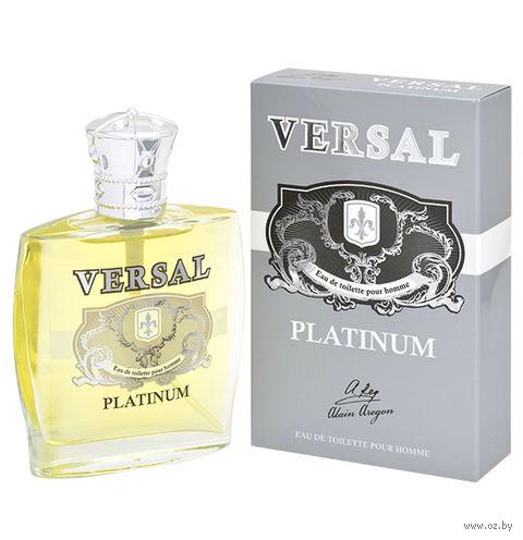"Туалетная вода для мужчин ""Versal Platinum"" (60 мл) — фото, картинка"