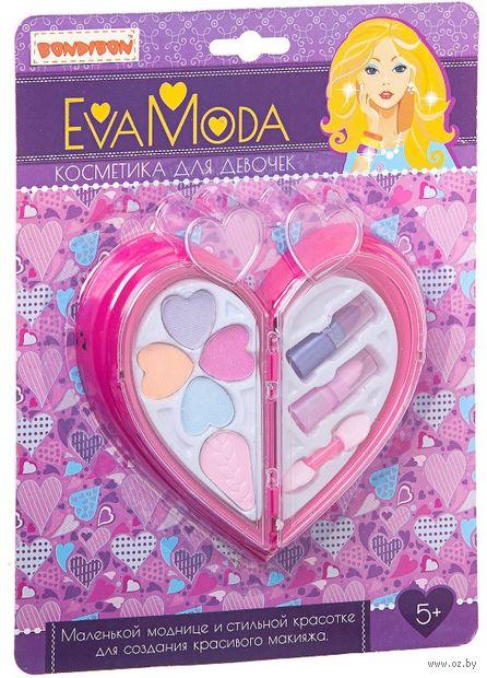 """Набор детской косметики """"Eva Moda. Сердце с косметикой"""" — фото, картинка"""
