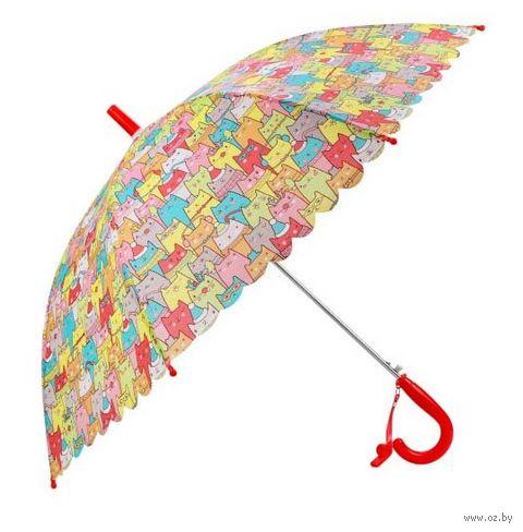 """Зонт-трость """"Котики"""" — фото, картинка"""