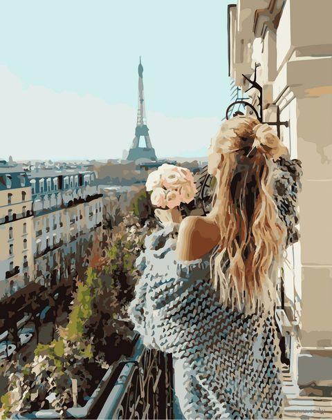 "Картина по номерам ""Утро в Париже"" (400х500 мм) — фото, картинка"