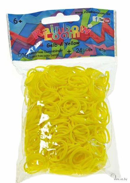"""Набор резиночек для плетения """"Rainbow Loom. Карамельно-желтые"""""""