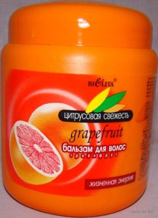 """Бальзам для волос """"Грейпфрут"""" (450 мл)"""