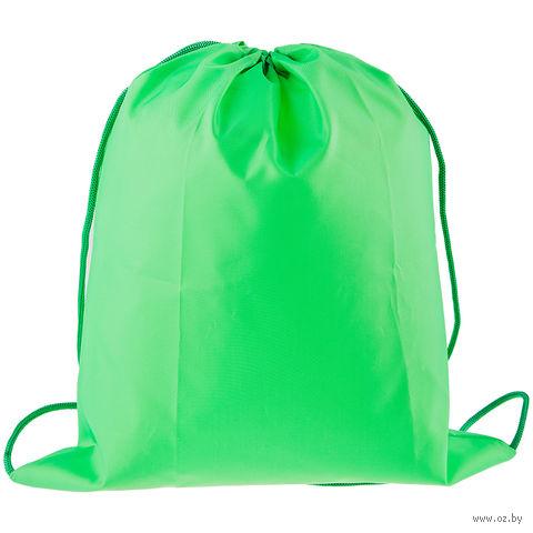 Рюкзак-мешок (зеленый) — фото, картинка