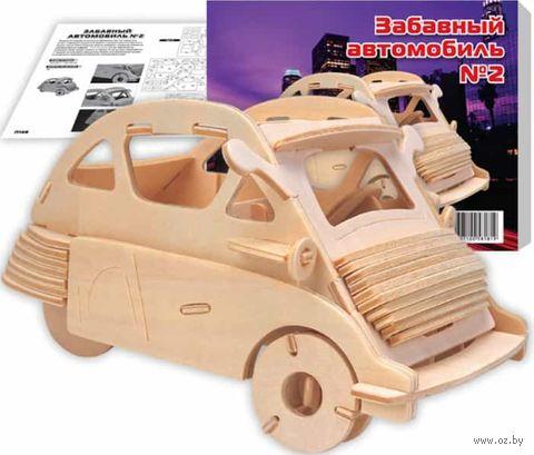 """Сборная деревянная модель """"BMW Изетта"""" — фото, картинка"""
