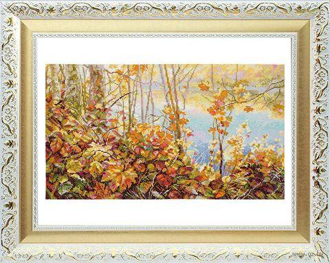 """Вышивка крестом """"Дивная осень"""" (455х265 мм) — фото, картинка"""